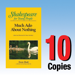 Much Ado About Nothing (Shakespeare for Young People 10 book set) 10P8006