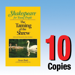 Taming of the Shrew (Shakespeare for Young People 10 book set) 10P8008