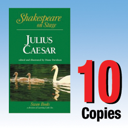 Julius Caesar (Shakespeare on Stage 10 book set) 10P8023