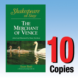 Merchant of Venice (Shakespeare on Stage 10 book set) 10P8026