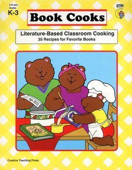 Book Cooks; Literature-based Classroom Cooking; 35 Recipes for Favorite Books Grades K-3 (spiral-bound) B1729