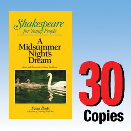 Midsummer Night's Dream (Shakespeare for Young People 30 book set) 30P8005