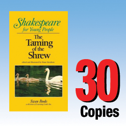 Taming of the Shrew (Shakespeare for Young People 30 book set) 30P8008