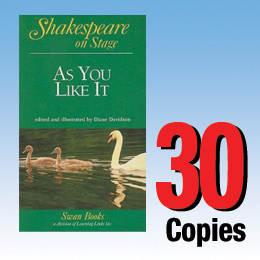 As You Like It (Shakespeare on Stage 30 book set) 30P8021