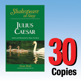Julius Caesar (Shakespeare on Stage 30 book set) 30P8023