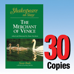 Merchant of Venice (Shakespeare on Stage 30 book set) 30P8026