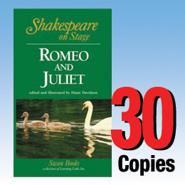 Romeo and Juilet (Shakespeare on Stage 30 book set) 30P8028