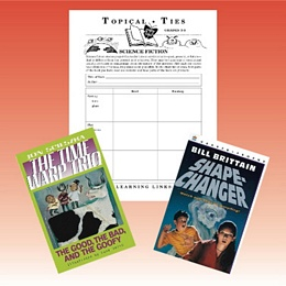 Science Fiction Topical Ties Set 3-5 3TSF