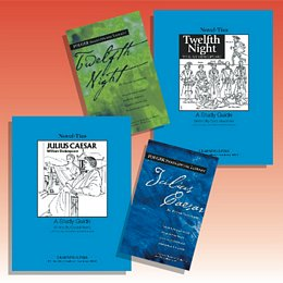 Shakespeare Themed Novel and Nonfiction Studies Collection 8TNSSH