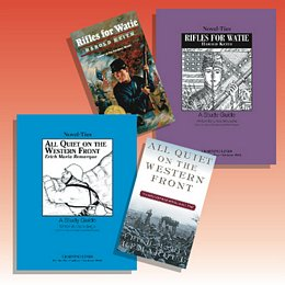 War Themed Novel and Nonfiction Studies Collection 8TNSWA