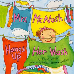 MRS. McNOSH HANGS UP HER WASH, Weeks B2581