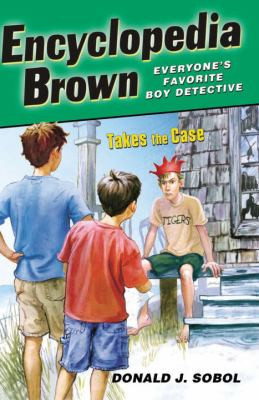 Encyclopedia Brown Takes the Case B0457