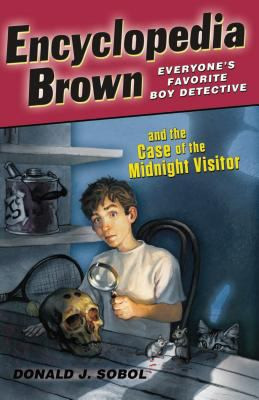 Encyclopedia Brown and the Case of the Midnight Visitor B0458