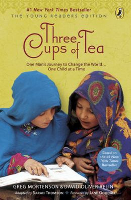 Three Cups of Tea : One Man's Journey to Change the World... One Child at a Time B3806
