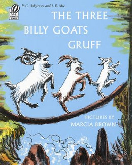 THREE BILLY GOATS GRUFF, Brown B8483