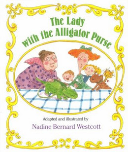 LADY WITH THE ALLIGATOR PURSE, Wescott B1802