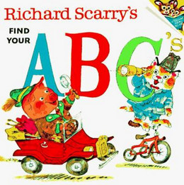 Richard Scarry's Find Your ABC's B1345