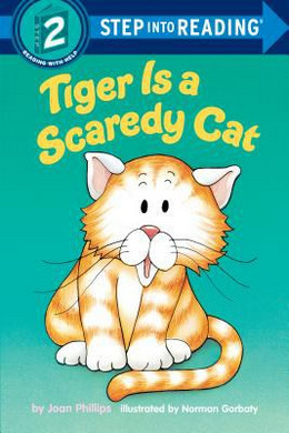 Tiger Is a Scaredy Cat B8283
