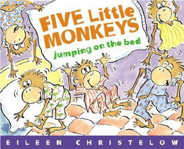 Five Little Monkeys Jumping on the Bed B8449