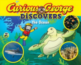Curious George Discovers the Ocean (Science Storybook) B8601