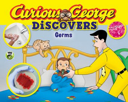 Curious George Discovers Germs (Science Storybook) B8600