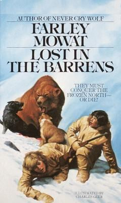 LOST IN THE BARRENS, Mowat B1463