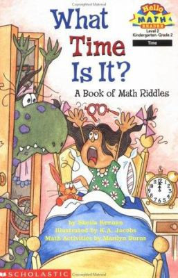 What Time is It? A Book of Math Riddles, Keenan B2584