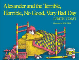 Alexander and the Terrible, Horrible, No Good, Very Bad Day, Viorst B0043