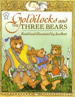 Goldilocks and the Three Bears B1817