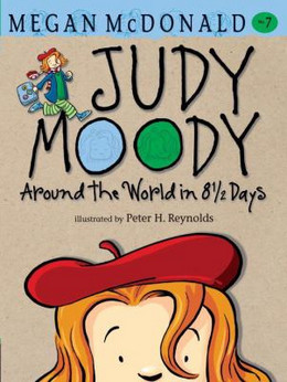 JUDY MOODY: AROUND THE WORLD IN 8 HALF DAYS #7 B143