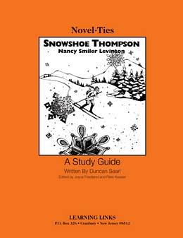 Snowshoe Thompson (Novel-Tie) S2273