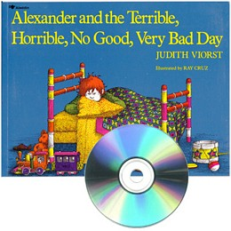 Alexander and the Terrible, Horrible, No Good, Very Bad Day - Book and CD E715