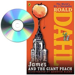 James and the Giant Peach - Book and CD E1373
