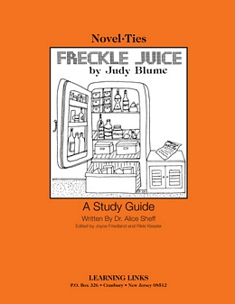 Freckle Juice (Novel-Tie) S0361
