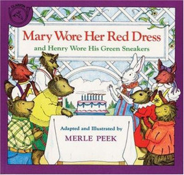 MARY WORE HER RED DRESS, Peek B2269