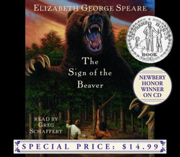 Sign of the Beaver (Audio Book on CD) CD0125