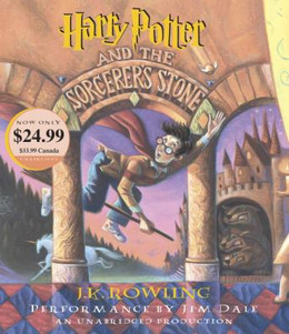 Harry Potter and the Sorcerer's Stone (Audio Book on CD) CD0346