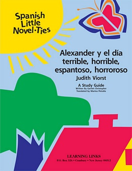 Alexander y el dia terrible, horrible, espantosa, horroroso (Spanish Novel-Tie) LS0777