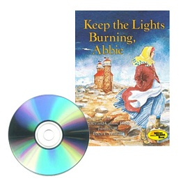 KEEP THE LIGHTS BURNING, ABBIE (Book and CD) CD3260
