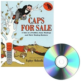 CAPS FOR SALE (Book and CD) P9604