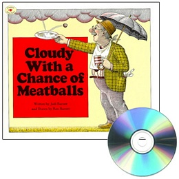 CLOUDY WITH A CHANCE OF MEATBALLS (Book and CD) CD3135