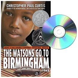 Watsons Go to Birmingham - 1963 - Book and CD E298