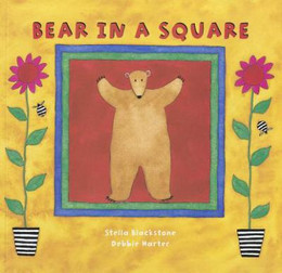 Bear in a Square B3352