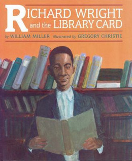 RICHARD WRIGHT & LIBRARY CARD B2102