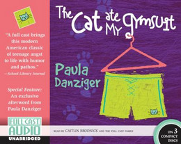 Cat Ate My Gymsuit (Audio Book on CD) CD0020