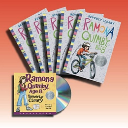 Ramona Quimby, Age 8 (Audio Set) CDS1158