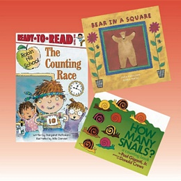 Reading Books for Math Set 4 (K-3) PRM4X
