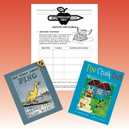 Around the World Primary-Ties package Set 1 PTAW