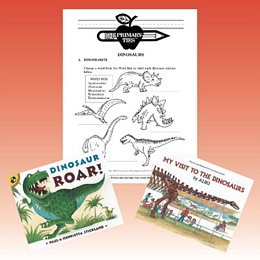 Dinosaurs Primary Ties Package PTDR