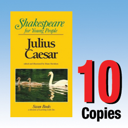 Julius Caesar (Shakespeare for Young People 10 book set) 10P8003